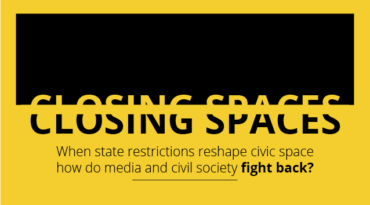 Debate: Closing spaces – how do media and civil society fight back?
