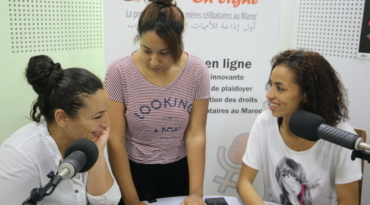 The microphone is the weapon in the Moroccan women's movement